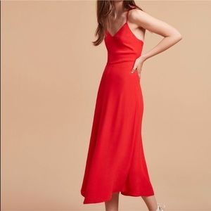 Aritzia Wilfred Angelique Dress in Flame 🔥 NWT